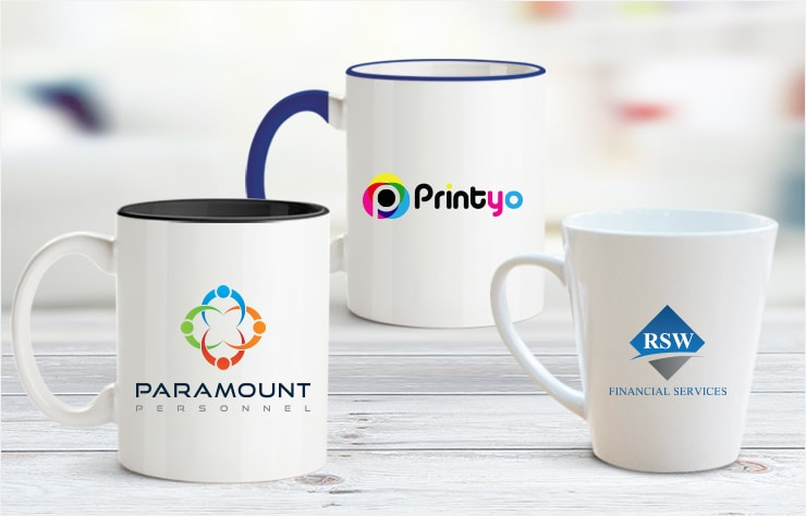 Personalised Mugs Custom Logo Photo Mug Printing Same Day