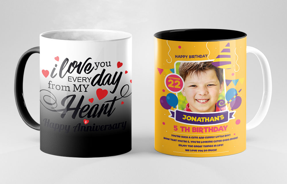 personalised mug banner of printyo