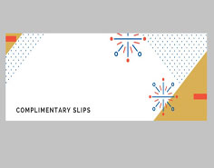 Complimentary Slips