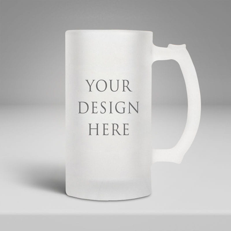 Frosted Beer Mug 16oz