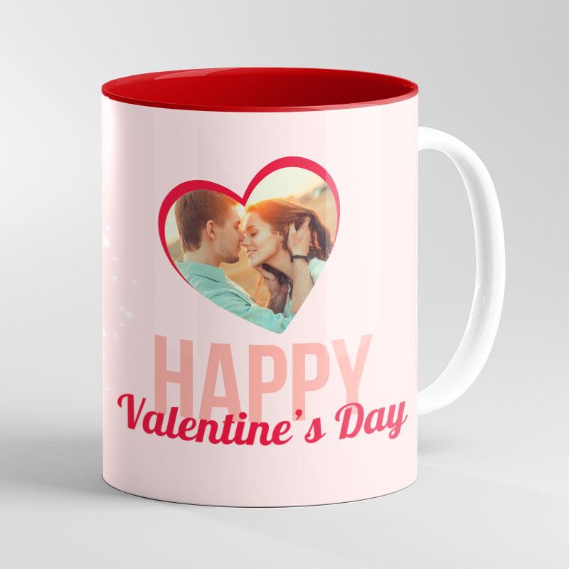 Red Inside Mug 11oz