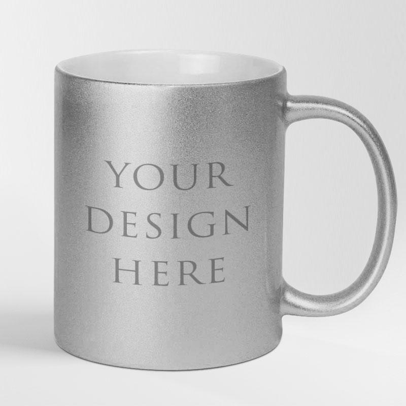 Silver Mug 11oz