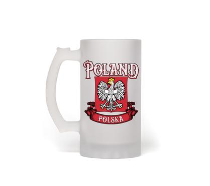 Frosted Beer Mug 16oz