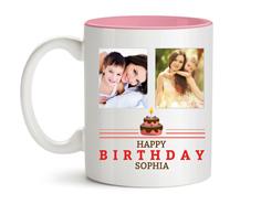 Pink Inside Mug 11oz
