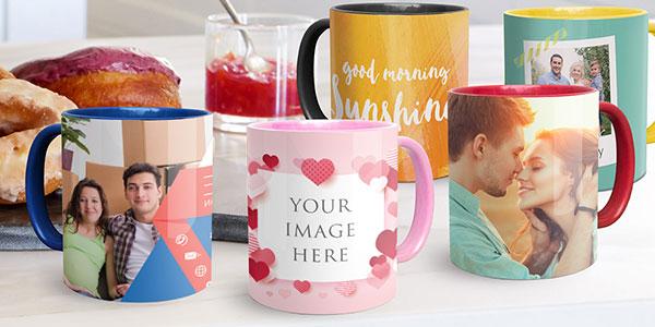 Personalised Mugs mobile banner