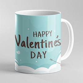 Cloudy Love Photo Mug