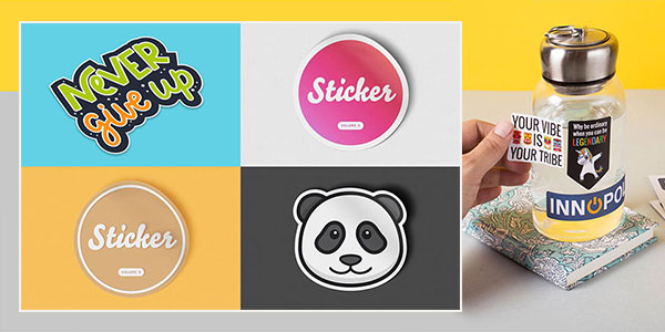 stickers printing mobile banner