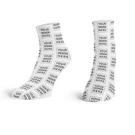 Custom Your Design Here Ankle Socks
