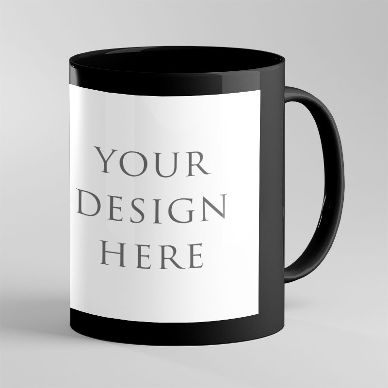 Black Patch Color Mug