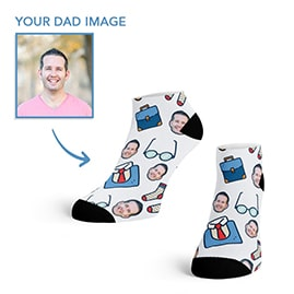 Custom Dad Ankle Socks
