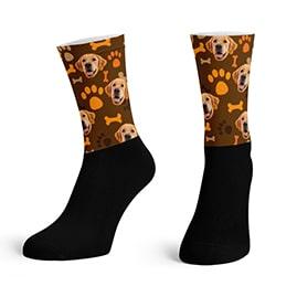 Custom Dog Socks