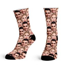 Custom Face Pattern Socks
