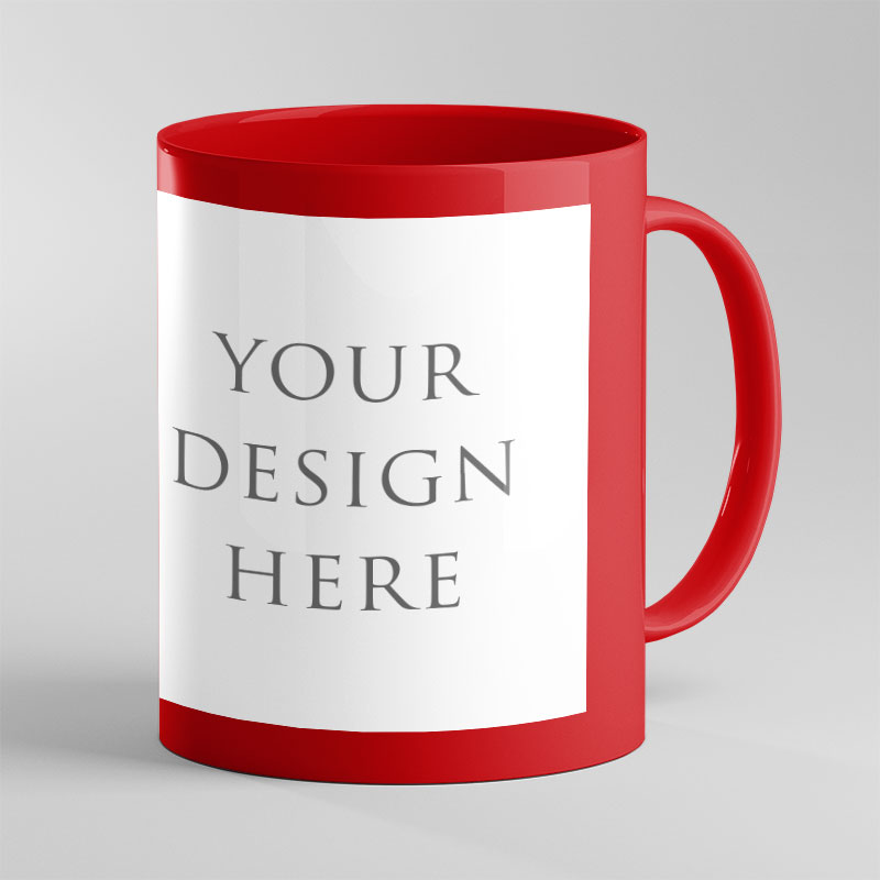 Red Patch Color Mug