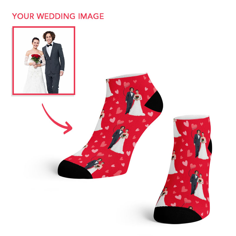 Wedding Couple Ankle Socks