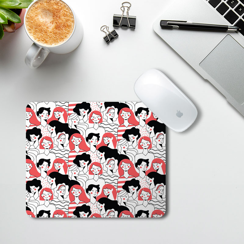 Women's Day Animated Mousepad