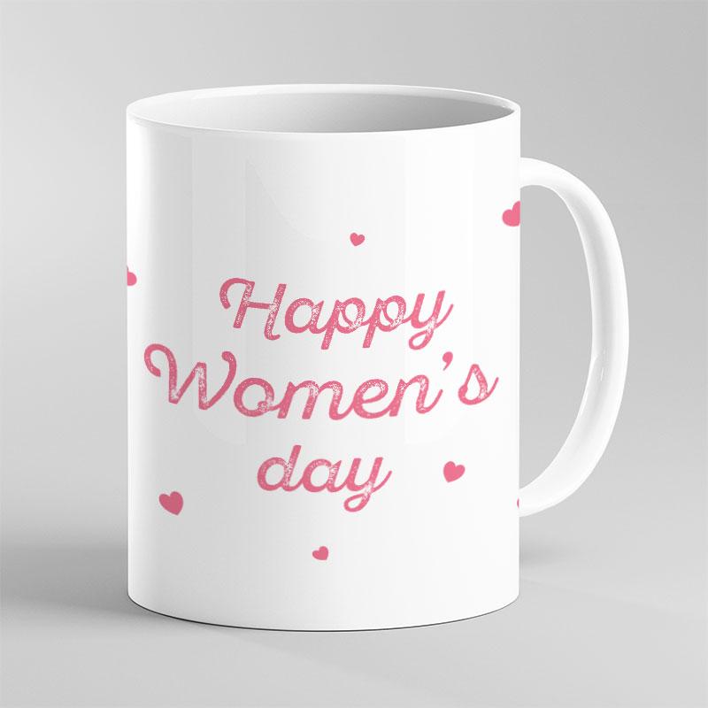 Women's White Mug