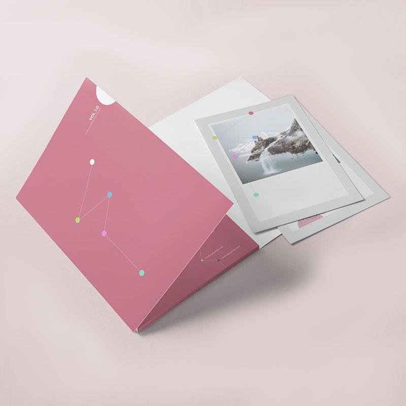 A4-6 Panel Folders