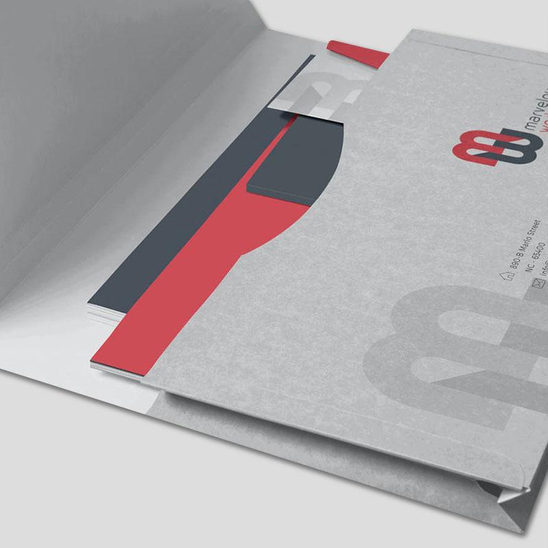 A4 Landscape Folders