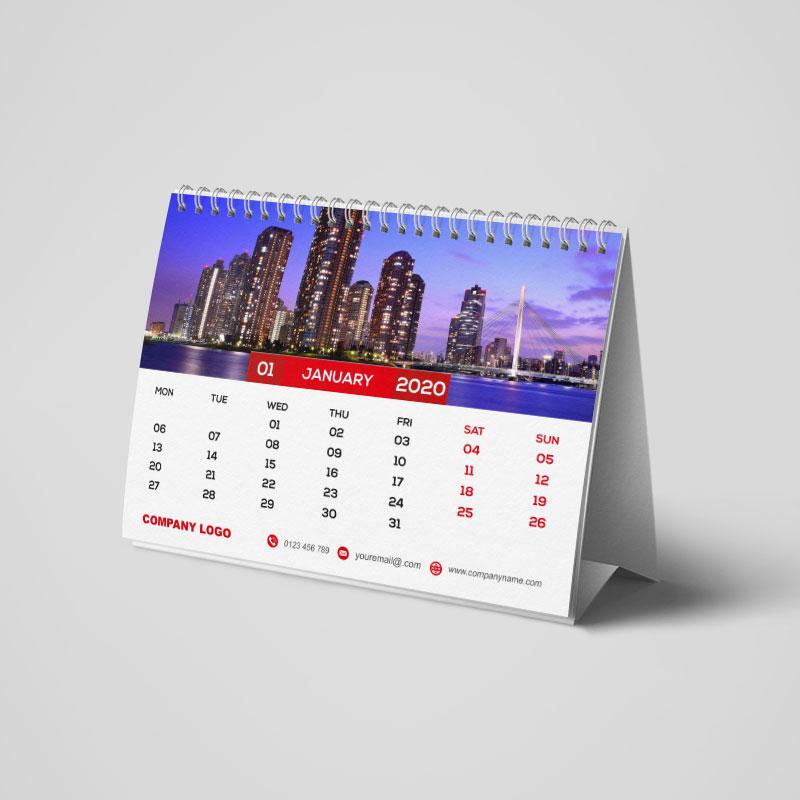 A5 Desktop Calendars