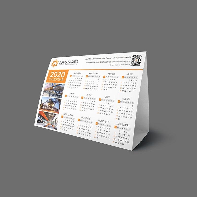 A5 Tent Calendars