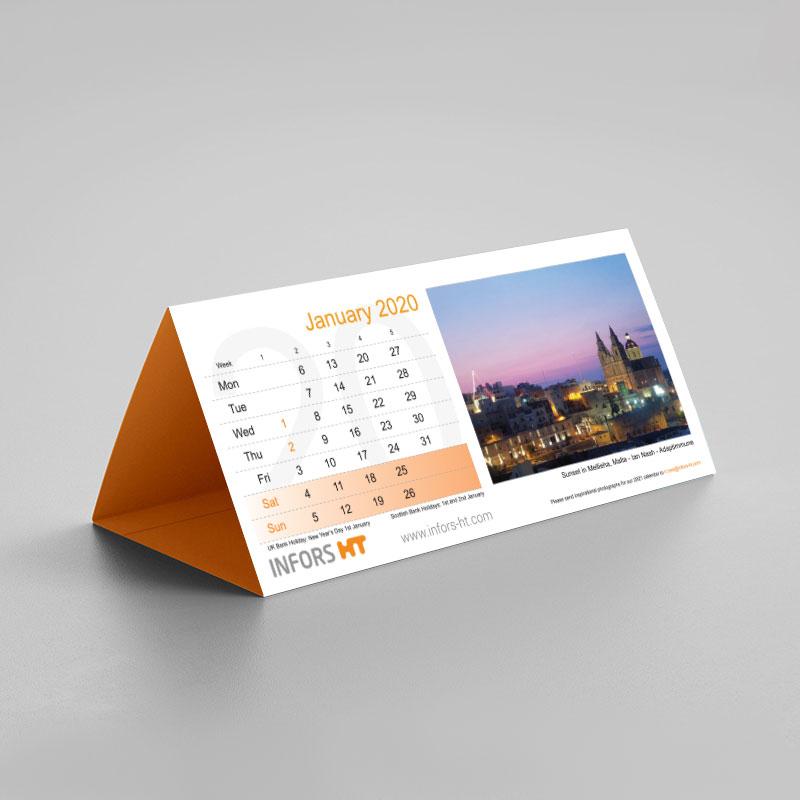 DL Tent Calendars