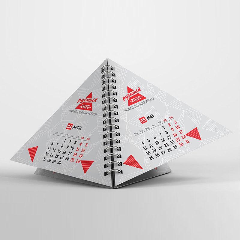 Die Cut Calendars