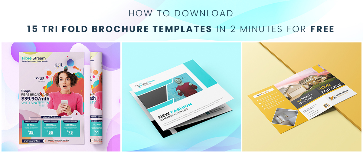 How to Download 15 Tri Fold Brochure Templates in 2 Minutes for FREE
