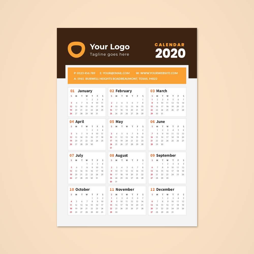 A3-Single-Sheet-Calendar-2020-Template-1