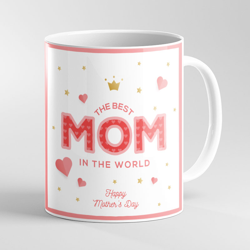 Best Mom Photo Mug