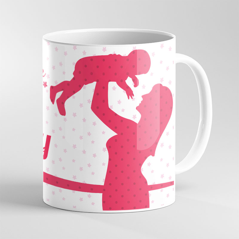 Custom Message Animated Mug