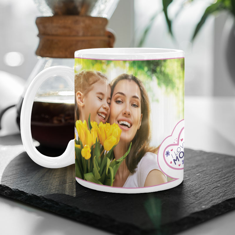 Flower Mother's Day Photo Mug