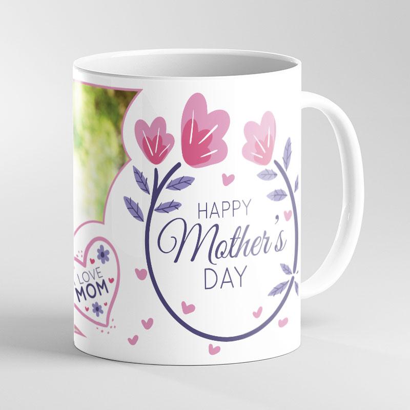Flower Mother's Day Photo Mug
