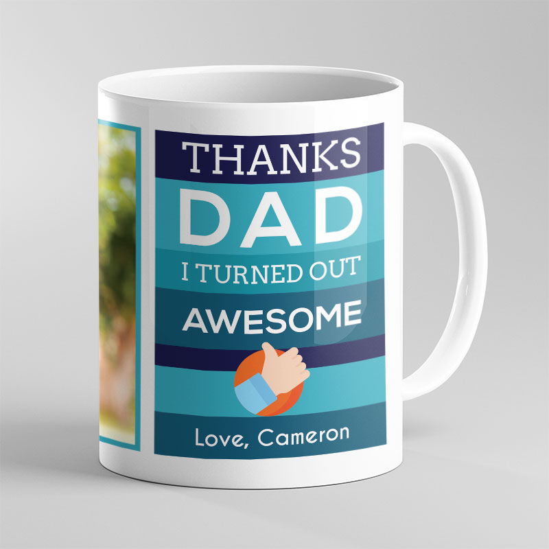 Thanks Dad – Father's Day Mug