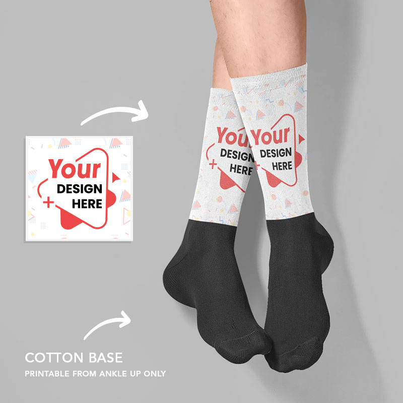 Custom Your Design Here Socks