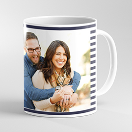 Couple Mug with Stripes