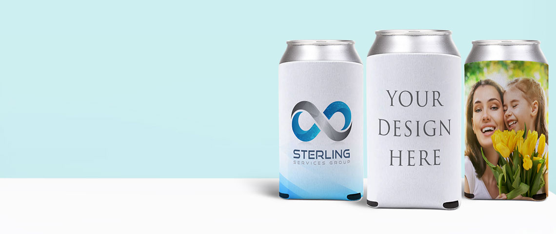 collection of Custom Stubby Holders on printyo