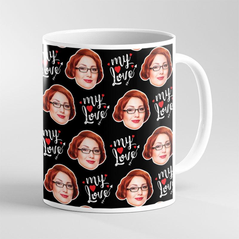 Face Mug Valentine My Love