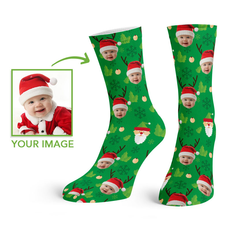 Christmas Crew Socks