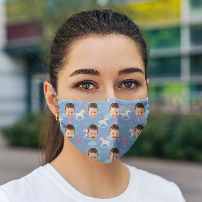 Customised Hexa Children Face Mask