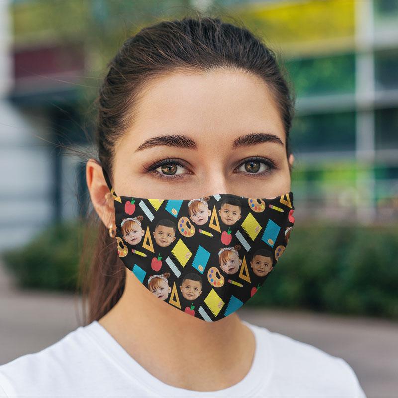 Customised Hexa School Face Mask
