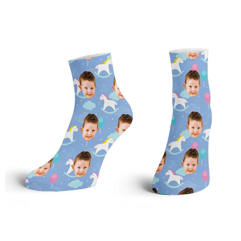 Customised Children Ankle Socks