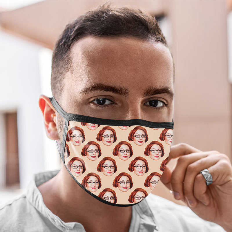 Personalised Cool Reusable Face Mask