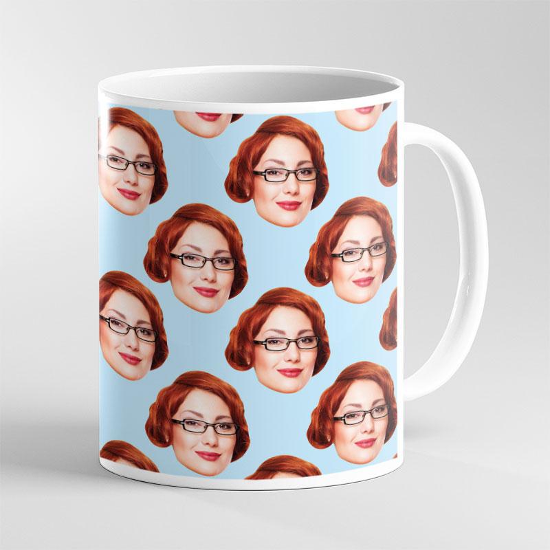 Personalised Face Design Mug