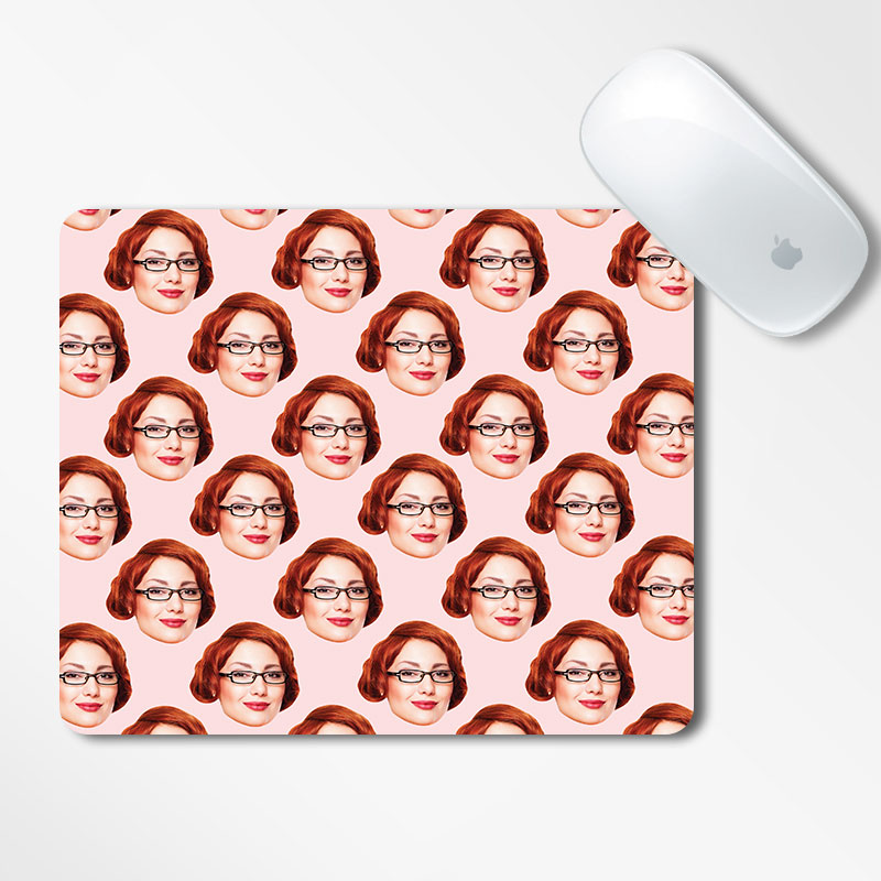 Personalised Funky Mouse Pad