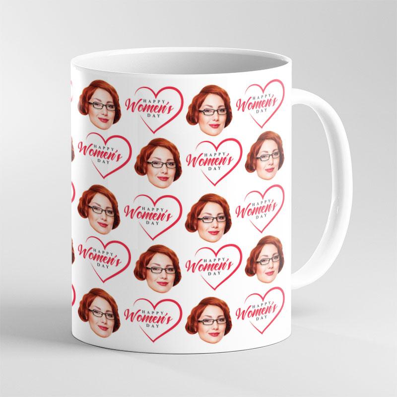 Women's Day Face Mug