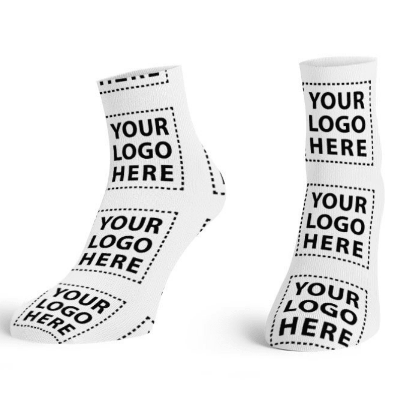 Corporate Logo Ankle Socks