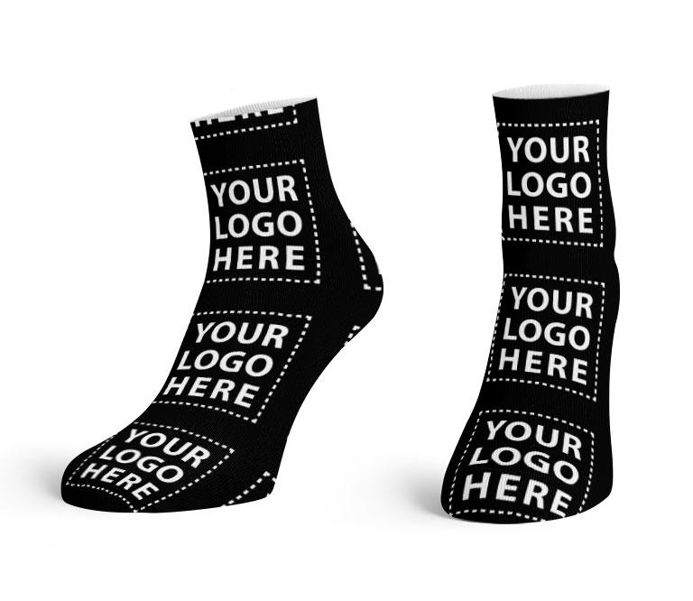 Corporate Logo Ankle Socks