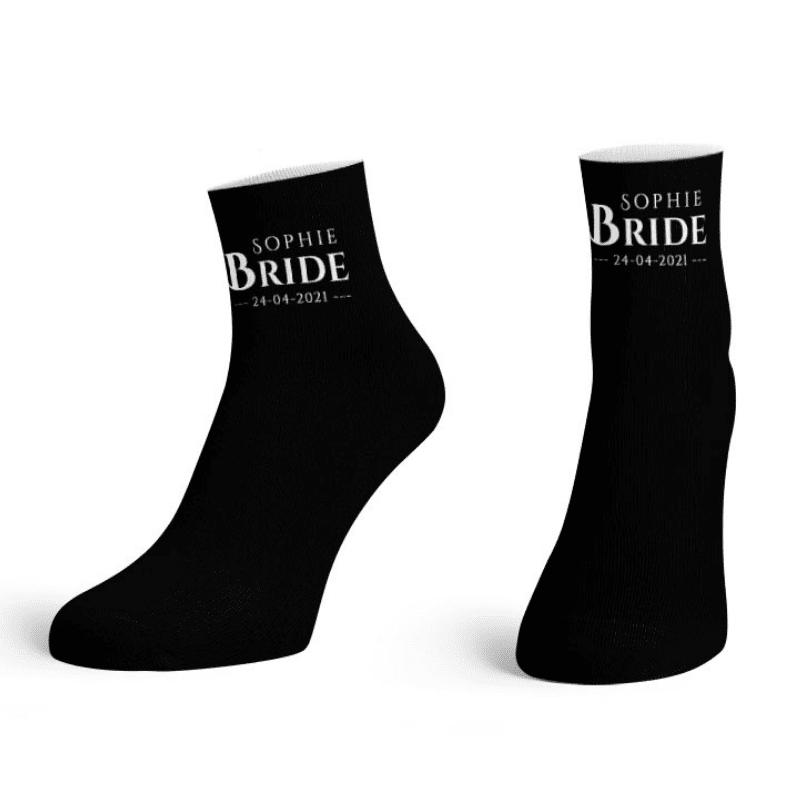 Bride-To-Be Printed Ankle Socks