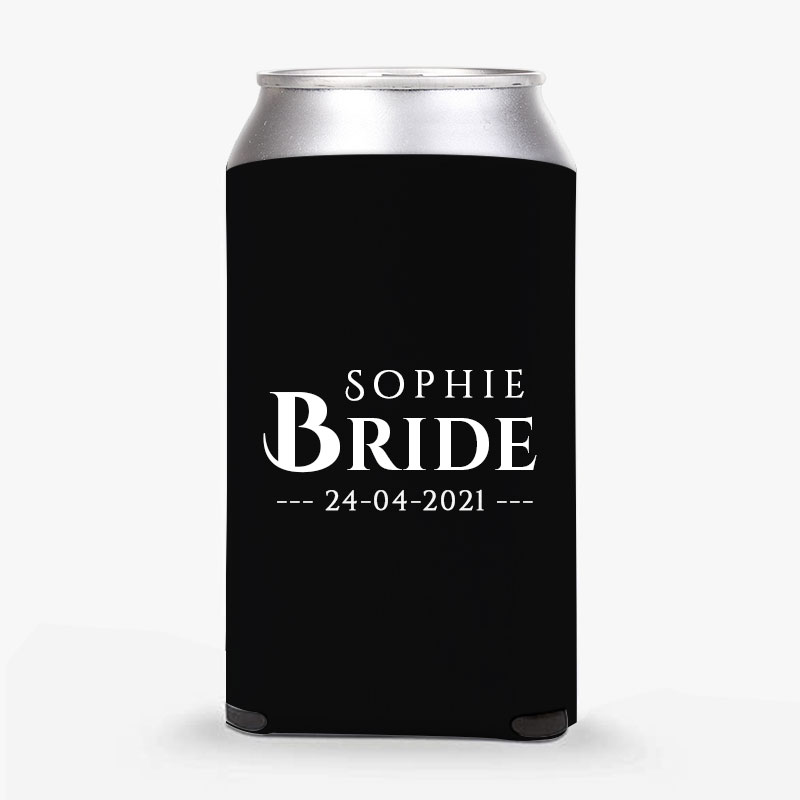 Customised Bride-To-Be Stubby Holders