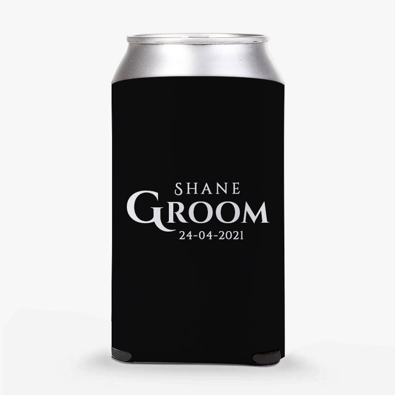 Customised Groom-To-Be Stubby Holders